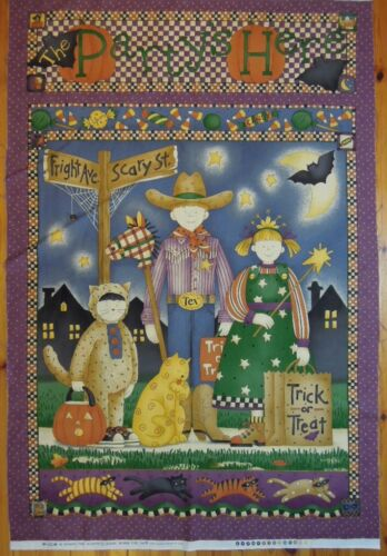 Halloween Debbie Mumm Stoffpanel für Wandbehang Patchwork