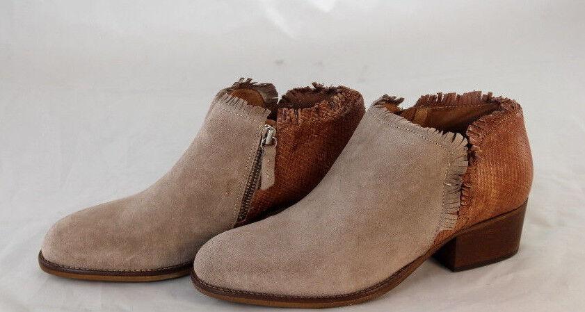 WOW ALTRA OFFICINA Stiefelette AncleStiefel Schuhe echt Leder Gr 37 39 40 41 NEU X9