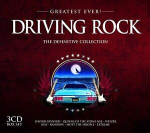 Greatest-Ever-DRIVING-ROCK-2013-3-CD-box-set-NEW-SEALED-Kiss-Motorhead-Blink-182