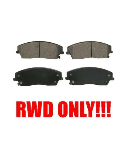 300 05-13 CHALLENGER 11-13 CHARGER 06-13 MAGNUM 05-08 with RWD Front Brake Pads