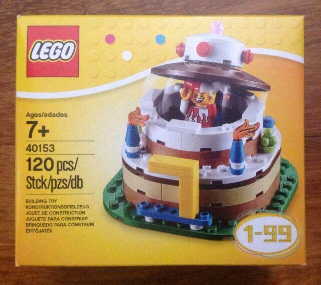 LEGO BIRTHDAY CAKE SET 40153