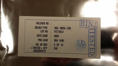 355-0026-220 3dfx VOODOO VSA 100 BGA 1 PC