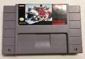 NHL-Stanley-Cup-Super-Nintendo-1993-SNES-AUTHENTIC-Game-Cart-Tested-Works