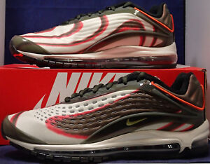 newest 7ba35 32e67 Image is loading Nike-Air-Max-Deluxe-Sequoia-Camper-Green-97-