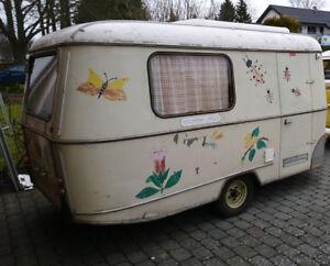 Wohnwagen Eriba Faun Familie BJ 1961 von HYMER OLDTIMER NOSTALGISCH