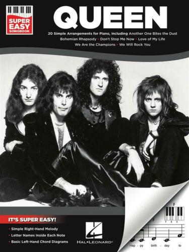 Super Easy Songbook  Piano  Book Only HL00294889 Queen