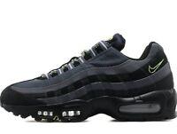 Nike Air Max 95 SI Premium ® ( Men Size UK 7.5 EUR 42 ) Black / Dark Grey / Volt
