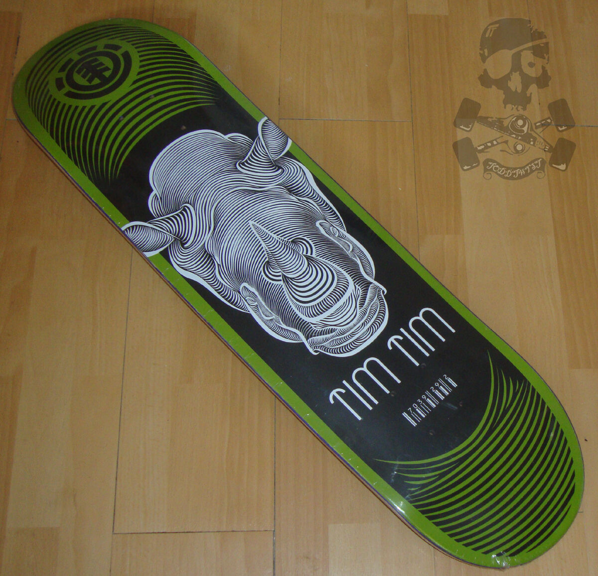 Element Tavola Skateboard TIM - Chad TIM Skateboard TIM - RINO IMPRINT 20.3cm larghezza 06efe7