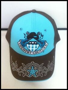 Country Couture Baseball Cap, New with Tags