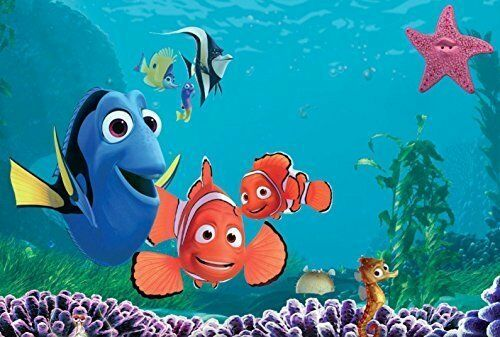 Finding Nemo Edible Cake Topper Frosting 1//4 Sheet Birthday Party