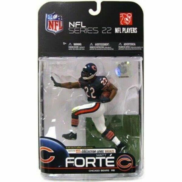 NFL Series 22 Matt Forte Chicago Bears Action Figure McFarlane Toys