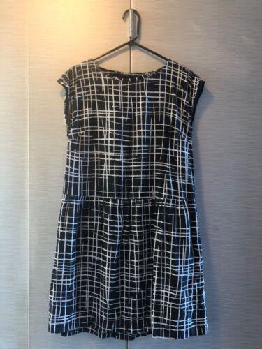Marimekko linen dress 34 with pockets