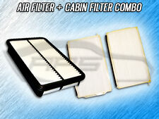 AIR FILTER CABIN FILTER COMBO FOR 2001 2002 MAZDA MILLENIA 2.3L ONLY