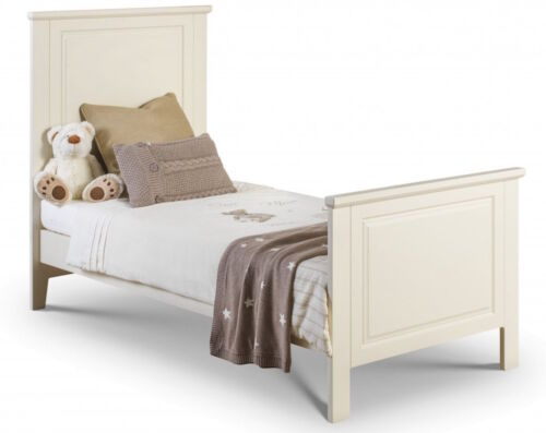 Cotbed to Toddler Bed Frame Mattress Option Childs Bed Stone White