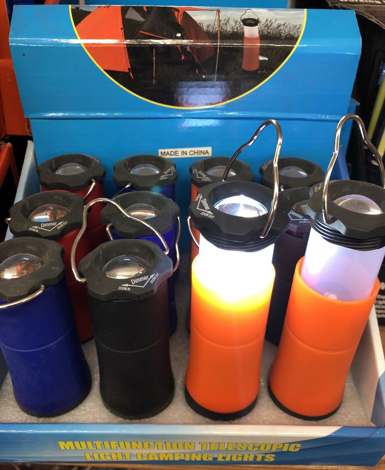 72 Flashlight / Lantern Multi Function Wholesale Lot