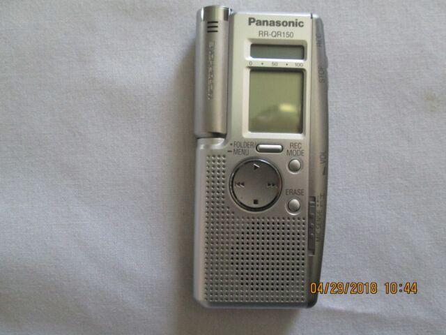 Panasonic RR-QR150 (3.5 Hours) Handheld Digital Voice Recorder