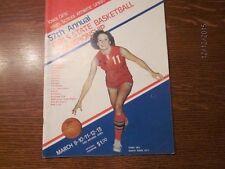 1976 Iowa High School Girls State Basketball Championship Official Program