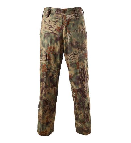 Men/'s Military BDU Tactical Uniform Shirt Pants Kryptek Hunting Airsoft Suit Set