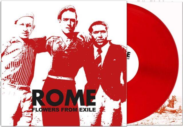 ROME - Flowers From Exile lim.RED LP RARE Death in June Ordo Rosarius Equilibrio
