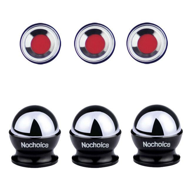 6 Pcs Spare Magnets for Nochoice Car Mount 6 Adhesive Pads No Ball Mount Included