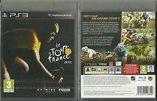 JEU PS3 PLAYSTATION 3 : LE TOUR DE FRANCE 2012 VELO CYCLISME BIKE / NEUF EMBALLE