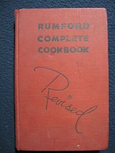 THE-REVISED-RUMFORD-COMPLETE-COOKBOOK-Hardcover-Jan-01-1936-WALLACE-LILY