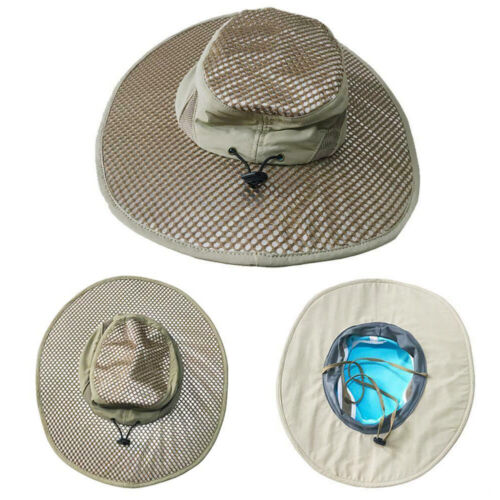 JT/_ Evaporative Cooling Bucket Hat Arctic Hat UV Protection Sunscreen Cooling