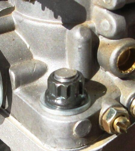 BY RADKE INT VW 70 FOR $65 12 POINT CHROMOLY NUT METRIC 8mm1.25 THREAD EXH