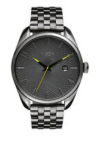 **BRAND NEW** NIXON WATCH THE BULLET ALL GUNMETAL / GRAY A4182090 NEW IN BOX!