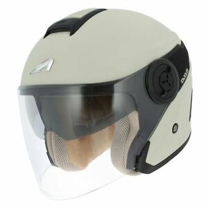 Helmet-Casco-Helmet-Jet-Astone-DJ10-Cream-Black-Size-L-59-60-Certified