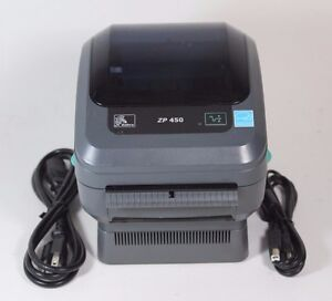 Details about Zebra ZP450 Network Thermal Label Barcode Printer - USB &  ETHERNET