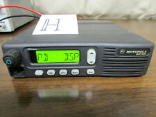 H Motorola Mcs 2000 Mobile Radio 800mhz Uhf 250 Channels M01hx812w As Is
