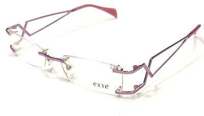 Montatura Vintage Occhiali Vista Donna Exté Ex25106 51/16 Aspetto Attraente