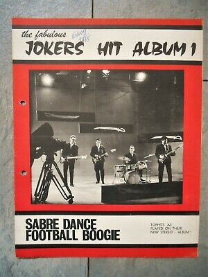 64 Surf/Rockabilly sheet music The FABULOUS JOKERS Sabre Dance ...