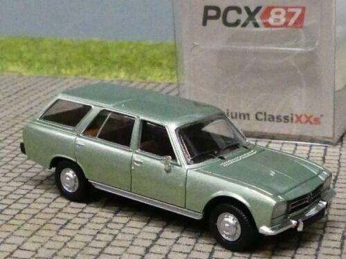 1//87 PCX Peugeot 504 Break hellgrün metallic  870025