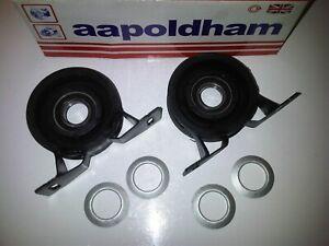 LAND-ROVER-FREELANDER-2-0-D-td4-Diesel-2x-Prop-Shaft-Mount-mountings-amp-Bearings
