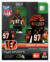 Geno Atkins Oyo Cincinnati Bengals Nfl Football Figure G2