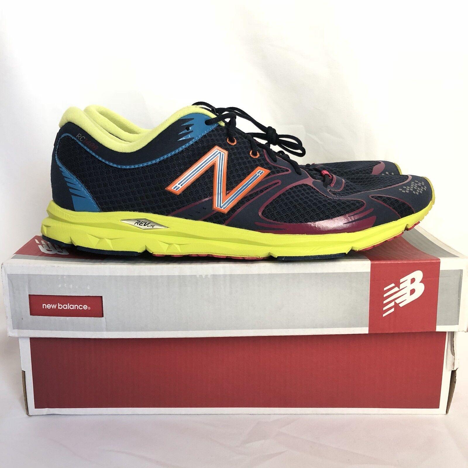 New Balance Balance Balance 1400 MR1400NY mens 12.5 athletic running shoes Navy Yellow 78df5f