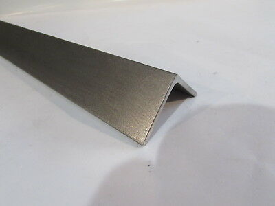 """STAINLESS STEEL ANGLE 2/"""" x 2/"""" x 1//8/"""" x 12/"""" 304//304L"""