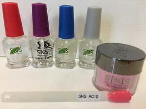 SNS-KIT-AC10-Signature-Nail-System-AC-AUTUMN-COLLECTION-Dip-Powder-Full-Kit-NEW