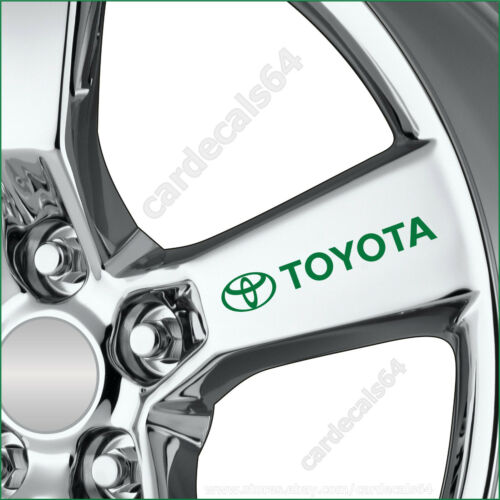 8 X Toyota Wheel Door Handle Decal Sticker Graphics Emblem Logo Design#2 A