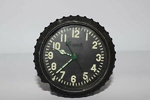 Russian indicator clock from YAK- 18T GAZ-69 T-62 AWRM 5 DAYS Military Soviet