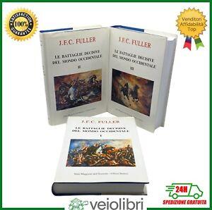 Fuller-LE-BATTAGLIE-DECISIVE-DEL-MONDO-OCCIDENTALE-militaria-guerre-cartine-raro
