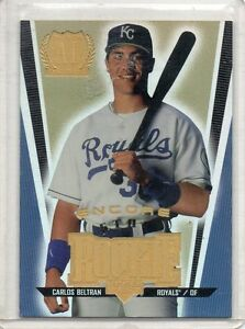 Details About 1999 Upper Deck Encore Baseball Carlos Beltran Rookie Card