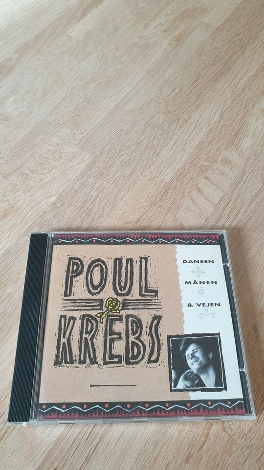 Poul Krebs: Dansen, Månen & Vejen, rock
