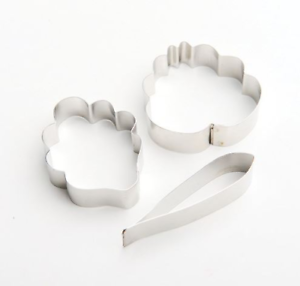 Cattleya Orchid SET OF 3 CUTTERS C528