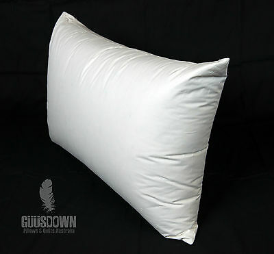 European Goose Down Surround Pillow - Soft Support - Made in Australia