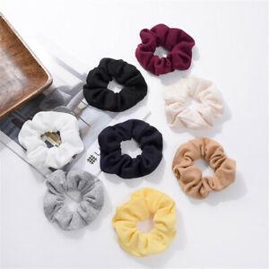 Women-039-s-Elastic-Hair-Rope-Ring-Tie-Scrunchie-Ponytail-Holder-Hair-Band-Headband