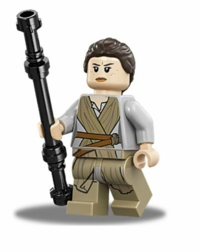 Lego® Star Wars™ Figur Rey sw677 aus 75148 Encounter on Jakku brandneu mit Waffe