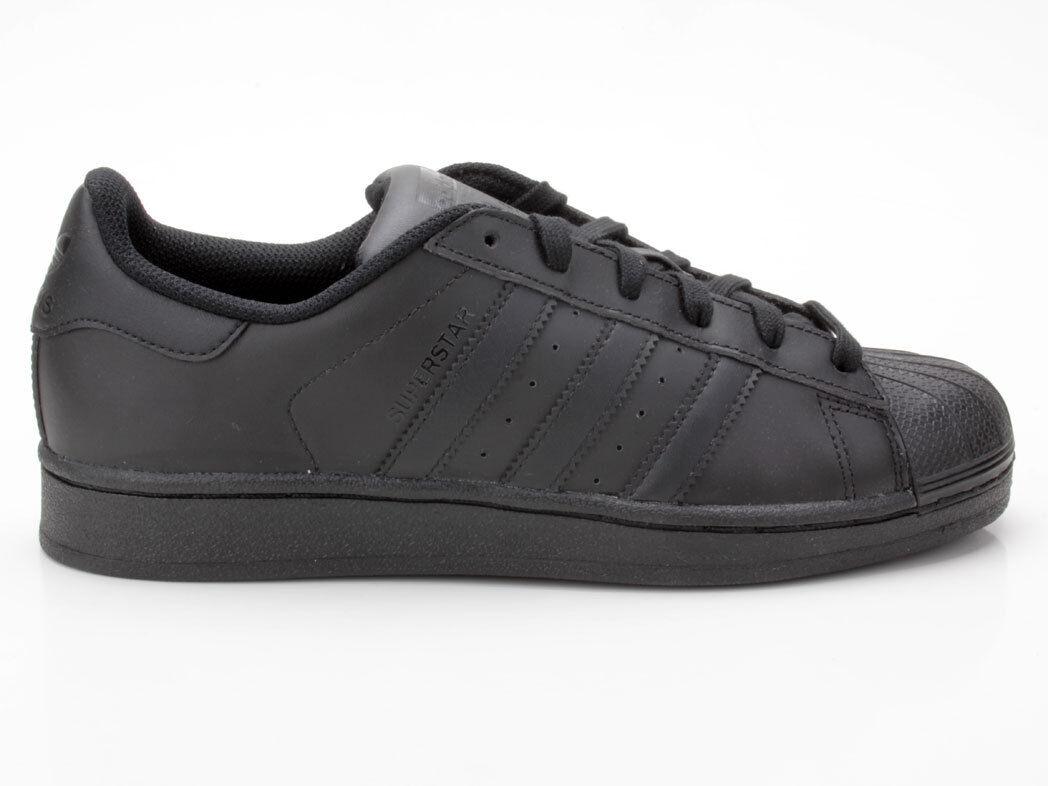Billig gute Qualität Adidas Superstar Foundation B25724 schwarz